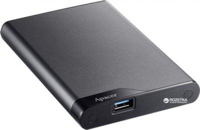 "Жорсткий диск Apacer AC632 2TB 5400rpm 8MB AP2TBAC632A-1 2.5"" USB 3.1 External Silver"