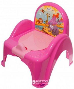 Детский горшок-кресло с музыкой Tega Baby Safari PO-041 Pink (Tega PO-041 pink)
