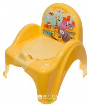 Детский горшок-кресло Tega Baby Safari SF-010 Yellow (Tega SF-010 yellow)