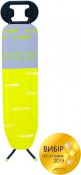 Доска гладильная Eurogold Reflektor 110х30 см c чехлом (R20030A =Lime=)