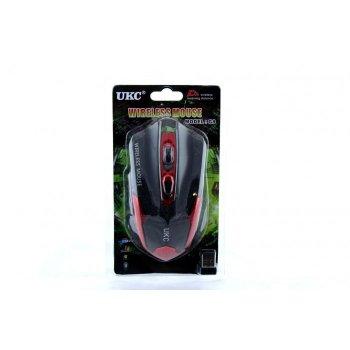 Беспроводная оптическая мышка G8, Черный/Красный
