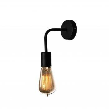 Світильник настінний бра 100lamp Loft Е-27 метал, чорний (NL 1440)