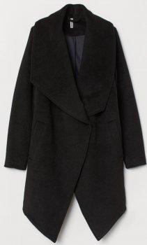 Пальто H&M 0300908_черн. Черное