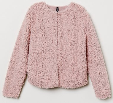 Полушубок H&M 663176 Розовый