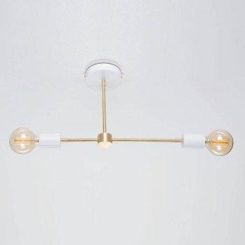 Стельовий світильник Retro Loft Viggo Білий