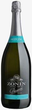 Вино игристое Zonin Prosecco Brut белое сухое 1.5 л 11% (8002235005449)