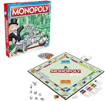 Настільна гра Hasbro Класична Монополія оновлена (28902241) (C1009_121)