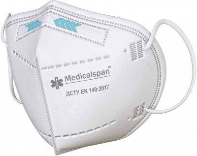Респіратор Medicalspan FFP2 10 шт. (Б202010)
