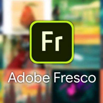 Adobe Fresco for teams. Ліцензія для комерційних організацій і приватних користувачів, річна передплата на одного користувача в межах замовлення від 10 до 49 (65303274BA02A12)