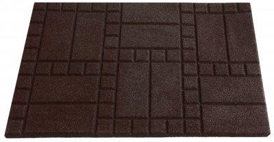Килимок придверний IzziHome Choco 50x75 Коричневий (2200000553270)