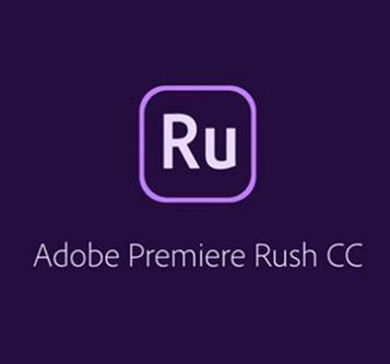 Adobe Premiere RUSH for enterprise. Ліцензія для комерційних організацій, річна передплата на одного користувача в межах замовлення від 1 до 9 (65295718BA01A12)