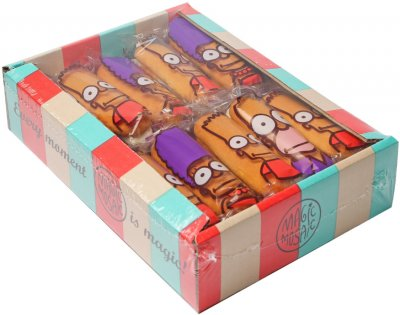 Печенье сдобное сбивное переслоенное начинкой Чарівна мозаїка Симпатяшки с ароматом ванили 0.75 кг (4820163111933)