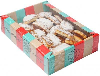 Печенье сдобное Чарівна мозаїка Творожка 0.5 кг (4820163112114)