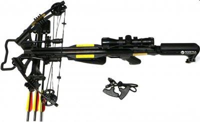 Арбалет Poe Lang PL/CR070BP-40 Blade + 3 стріли + приціл + ківер