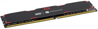 Оперативна пам'ять Goodram DDR4-2400 16384MB PC4-19200 Iridium Black (IR-2400D464L17/16G)
