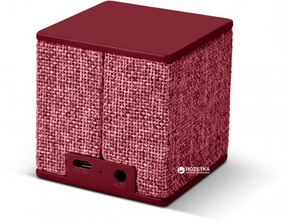 Акустическая система Fresh 'N Rebel Rockbox Cube Fabriq Edition Ruby (1RB1000RU)