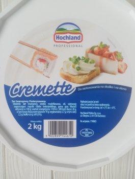 Вершковий сир Hochland Cremette 2kg
