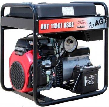 Бензогенератор AGT 11501 HSBE R45