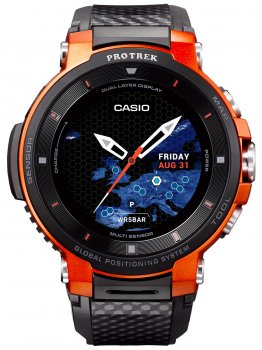 Годинник Casio WSD-F30-RGBAE Pro-Trek Smartwatch 58mm 5ATM