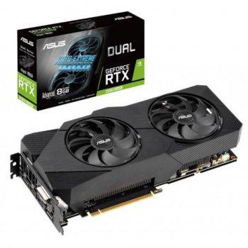 Відеокарта ASUS GeForce RTX2060 SUPER 8192Mb DUAL Advanced EVO (DUAL-RTX2060S-A8G-EVO)