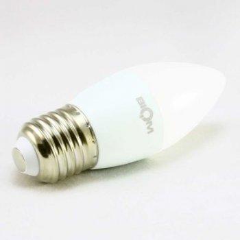 Світлодіодна лампа Biom BT-568 C37 6W E27 4500К матова (131552)