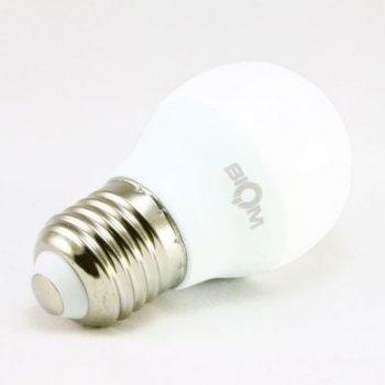 Світлодіодна лампа Biom BT-564 G45 6W E27 4500К матова (131688)
