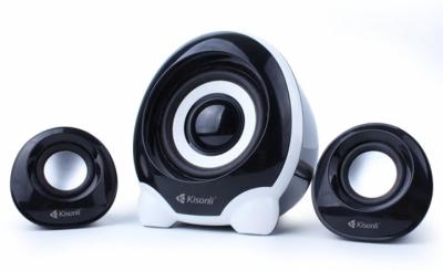 Компьютерные колонки Kisonli U-2300 Desktop Speaker 2.1 USB Kisonli
