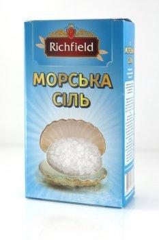 """Морская соль пищевая 300г ТМ """"Richfileld"""""""