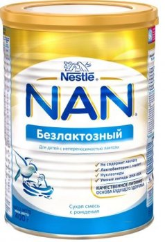Сухая молочная смесь Nestle NAN безлактозный 400 г (EK22001021)