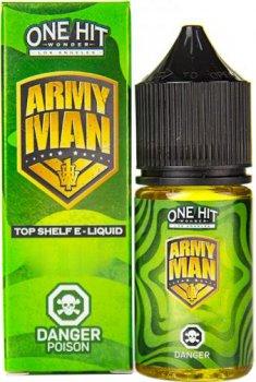 Рідина для POD-систем One Hit Wonder Salts Army Man 50 мг 30 мл (Молоко + лайм) (OHWS-AM-50-30)