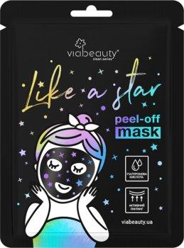 Маска-пленка Via Beauty Like a Star с Гиалуроновой кислотой 10 мл (6971663406529)