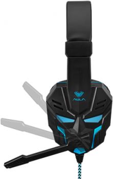 Наушники Aula Prime Basic Gaming Headset Black-Blue (6948391232768)