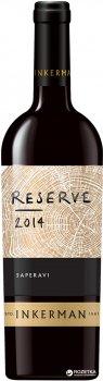 Вино Inkerman Reserve Saperavi червоне сухе 0.75 л 10-14% (4823090000301)