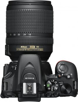 Фотоапарат Nikon D5600 AF-S 18-140mm f/3.5-5.6 G VR Black