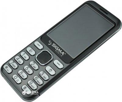 Мобільний телефон Sigma mobile X-Style 33 Steel Grey