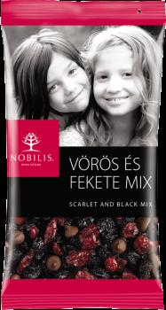 Асорті фруктове Nobilis черешня журавлина бельгійський шоколад Barry Callebaut 100г (5997690716050)
