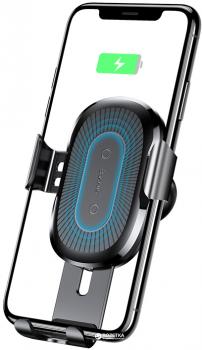Беспроводное автомобильное зарядное устройство Baseus Gravity 10W Black (WXYL-01)