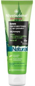Відновлювальний і заспокійливий крем для рук і нігтів Farmona Nivelazione Skin Therapy Natural з конопляною олією 100 мл (5902082211020)