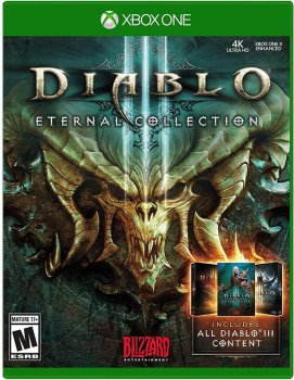 Игра Xbox One Diablo III Eternal Collection [Blu-Ray диск] (JN6388218EN)
