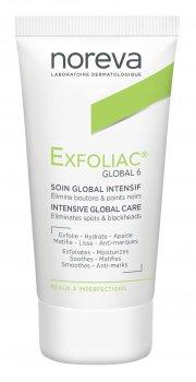 Крем для лица Noreva Laboratoires Exfoliac Global 6 Intensive Global Care Уход за проблемной кожей 30 мл (3401341249344)