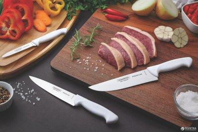 Кухонний ніж Tramontina Profissional Master для м'яса 152 мм Білий (24621/186)