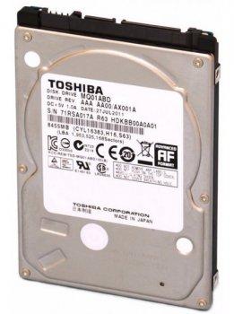 Жорсткий диск Toshiba 500GB 5400rpm 8MB MQ01ABD050V 2.5 SATA II Refurbished