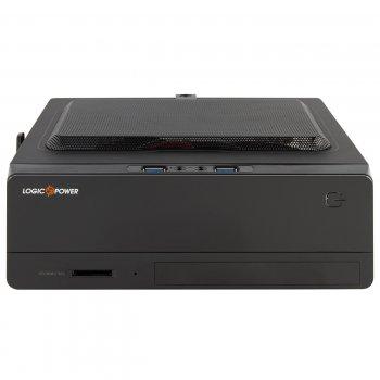 Корпус Logicpower S101 180W 2xUSB3.0, Cardreader, Black