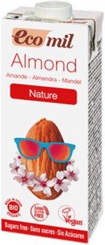 Органическое растительное молоко Ecomil Миндальное без сахара 200 мл (8428532230108)
