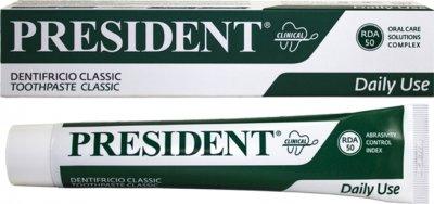 Зубная паста President Clinical Classic 75 мл (8030009700115)