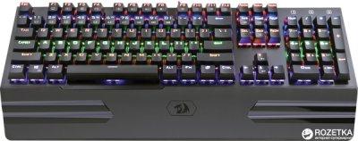 Клавіатура дротова Redragon Hara USB Black OUTEMU Blue (74944)