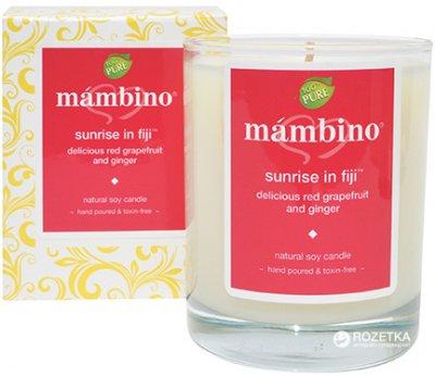 Органічна соєва свічка Mambino organics Схід на Фіджі 206 г (892201002057)