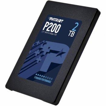 """Накопичувач SSD 2.5"""" 2TB Patriot (P200S2TB25)"""