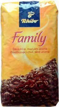 Кофе в зернах Tchibo Family 1 кг (5997338170718)