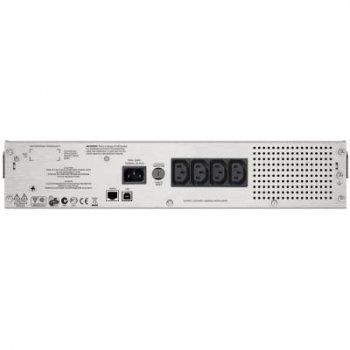 Джерело безперебійного живлення APC Smart-UPS C RM 1000VA LCD (SMC1000I-2U)